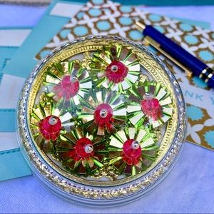 Foil Flowers Paperweight